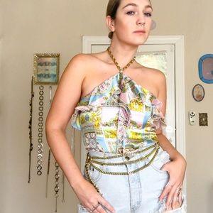 Versace Mami Silk Tank
